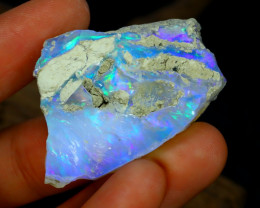 Welo Opal Rough 49.45Ct Natural Ethiopian Rough Opal Specimen A1331