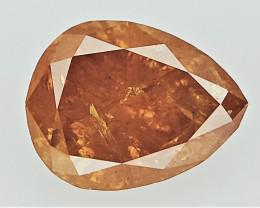 0.28 cts Pear Brilliant Cut Diamond , Loose Colored Diamond