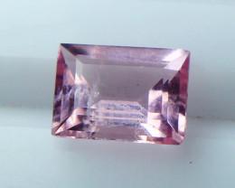 NR!!! 1.00 Cts Natural & Unheated~ Pink Morganite Gemstone
