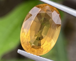 Natural Citrine 5.49 Cts Nice Color Gemstone