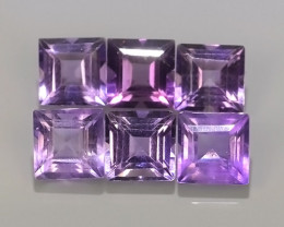6.60 CTS AWESOME NATURAL PURPLE~VIOLET AMETHIYST GEM!!