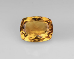 NR Top Grade 5.04 Cts Natural Yellow  Citrine Gemstone