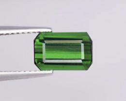 NR - Top Grade 2.28 Carats  Natural Tourmaline Green Color Gemstone
