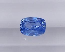 0.83ct unheated blue sapphire