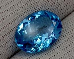 13.25CT BLUE TOPAZ BEST QUALITY GEMSTONE IIGC55