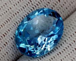 10.72CT BLUE TOPAZ BEST QUALITY GEMSTONE IIGC55