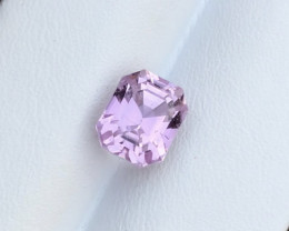 4.35 Carats Natural Kunzite Cut Stone from Afghanistan