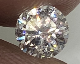 (3) Certified $1101 Precious  0.50cts SI1 Nat  White Round  Loose Diamond