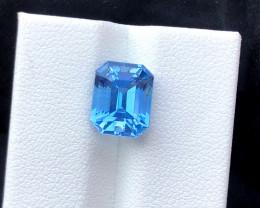 4.40 cts Santa Maria Color Aquamarine