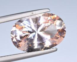 6.15 Carat Morganite Master Cut Gemstone Special item