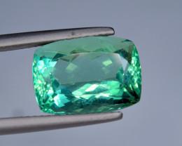 18.80 Carat Top Fluorite Unusual Rare Color Perfect Cut Gemstone@Pakistan
