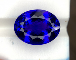 22.41 CTS D Block Perfect Tanzanite Gem