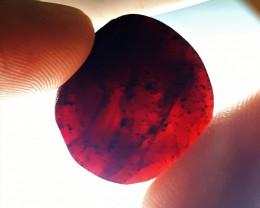Stunning Natural color Gemmy Quality Garnet Slice 38Cts-GN-2