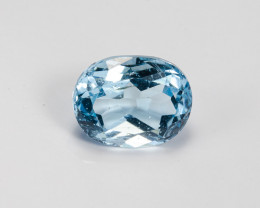 **$1NR**  3.45ct. Natural Blue Topaz