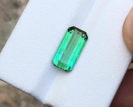2.70 Ct Natural Green Transparent Tourmaline Gemstone