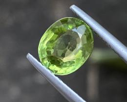 Natural Peridot 2.7 Cts Nice Color Gemstone