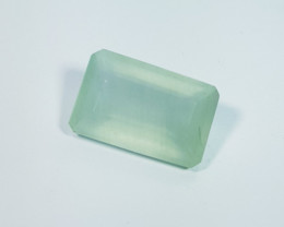 8.75  ct Exclusive Gem Stunning Rectangle Cut Natural Aquamarine