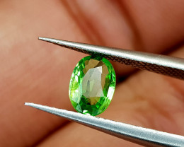0.55Crt Rare Tsavorite Garnet Natural Gemstones JI49