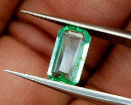 1.18Crt Natural Emerald Afghanistan Natural Gemstones JI49