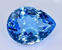 20.73 Crt Topaz  Faceted Gemstone (Rk-16)