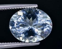 3.10 Crt  Aquamarine Faceted Gemstone (Rk-16)