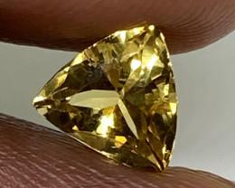 (15) GFCO Cert  Wonderous 1.14ct Nat Yellow Alexandrite