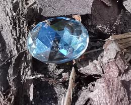 Tourmaline, 2.52ct, light blue fascinating decent colourplay?
