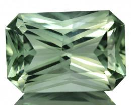 ~CUSTOM CUT~ 7.88 Cts Natural Prasiolite / Amethyst Fancy Radiant Brazil