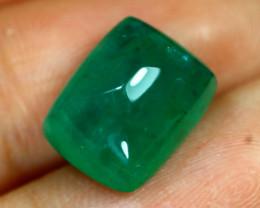 Emerald 7.50Ct Natural Zambian Sugar Loaf Green Color Emerald B1403