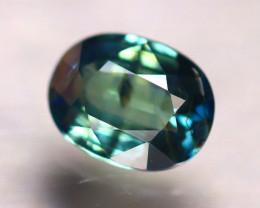 Unheated Sapphire 0.95Ct Natural Peacock Sapphire D1309/B9