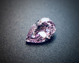 0.06 Fancy Pinkish Purple SI1