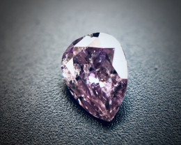 0.09 Fancy Deep Pinkish Purple I2