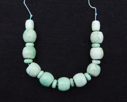 D1572 - 176.5cts Lucky Turquoise, Handmade Gemstone, Turquoise necklace, Lu