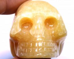 486cts Agate Skull Carving  LT-1067 lightningtreasures