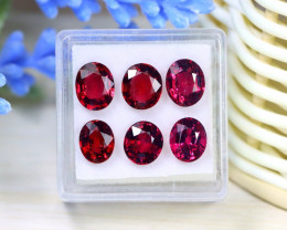 Garnet 9.31Ct VVS Oval Cut Natural Mahenge Garnet Lot Box A1508