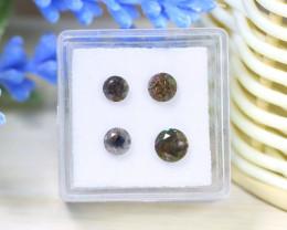 Salt And Pepper Diamond 1.87Ct 4Pcs Untreated Genuine Diamond A1513