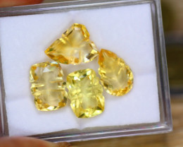 18.72ct Natural Yellow Citirne Fancy Cut Lot B3602
