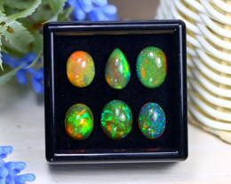 Welo Opal 11.49Ct Natural Ethiopian Rainbow Flash Welo Opal Lot C1336