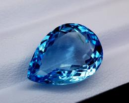 11.15Crt Blue Topaz Natural Gemstones JI50