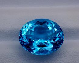 2.41Crt Blue Topaz Natural Gemstones JI50