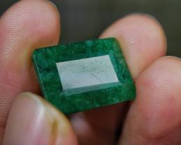 16.95 CT Octagon Brazil Emerald Gemstone