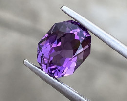 Natural Amethyst 3.36 Cts Excellent Fancy Cut Gemstone