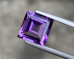 Natural Amethyst 4.66 Cts Excellent Fancy Cut Gemstone