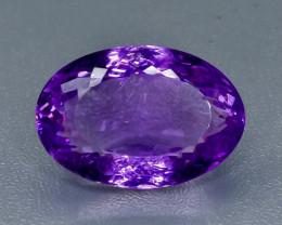 36.31 Crt Amethyst Faceted Gemstone (Rk-17)