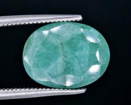 4.12 Crt Emerald  Faceted Gemstone (Rk-17)