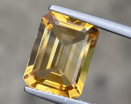 Natural Citrine 4.37 Cts Nice Color Gemstone