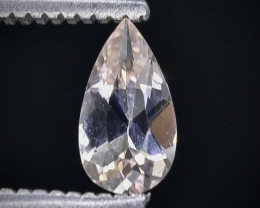 0.37 Crt Morganite Faceted Gemstone (Rk-17)