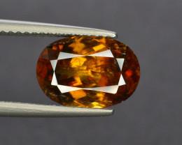 Ultimate Fire 3.80 ct Chrome Sphene from Himalayan Range Pakistan