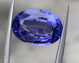 7.38  carat Natural Tanzanite Gemstone.