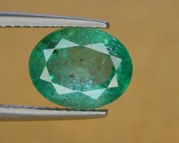 2.35 Ct Brilliant Color Natural Zambian Emerald